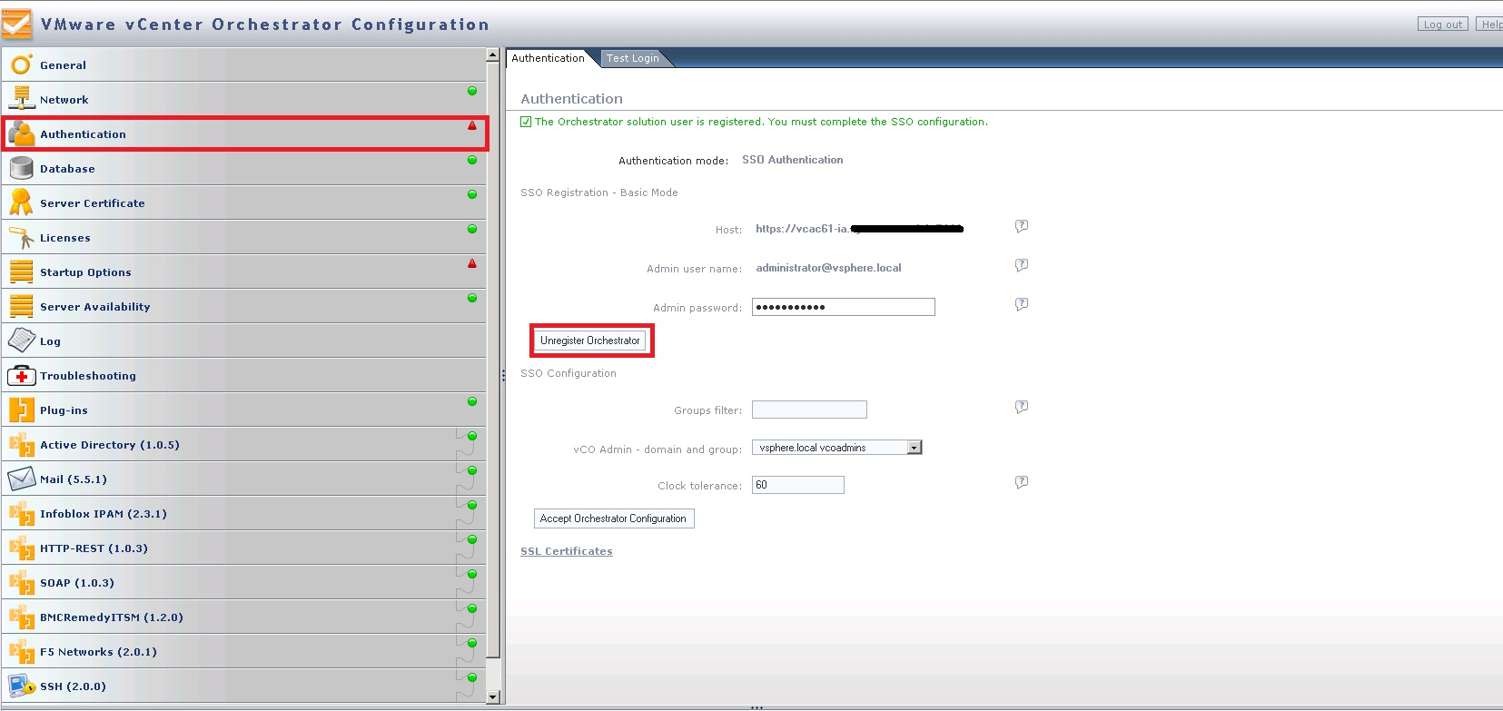 How to configure vRO (vCO) AD permissions on workflows